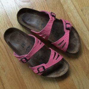 Birkenstock Birkis Moorea 2 Strap Sandals Soft Bed